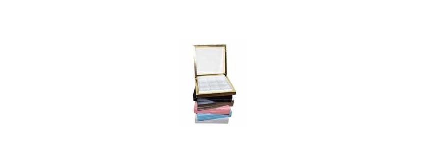 Présentoirs box boîte pour chocolat personnalisé coloris