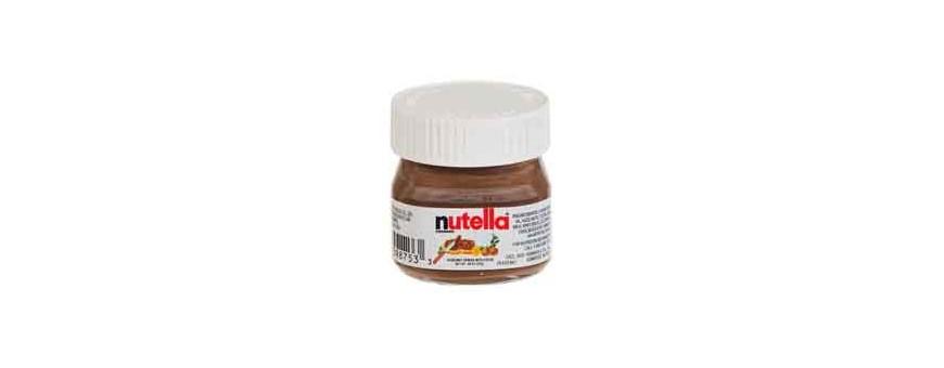 Découvrez nos divers produits, mini pot de nutella, café